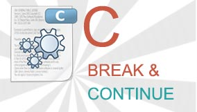 C break and continue