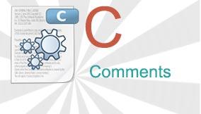 c comments