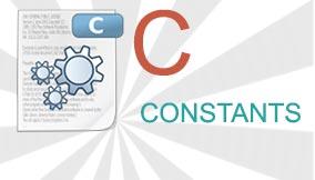 C Constants
