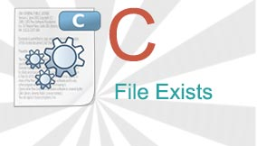 C File Exists