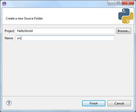 Enter Source Folder