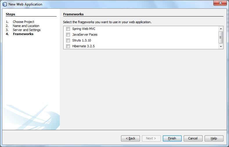 JSP - Frameworks