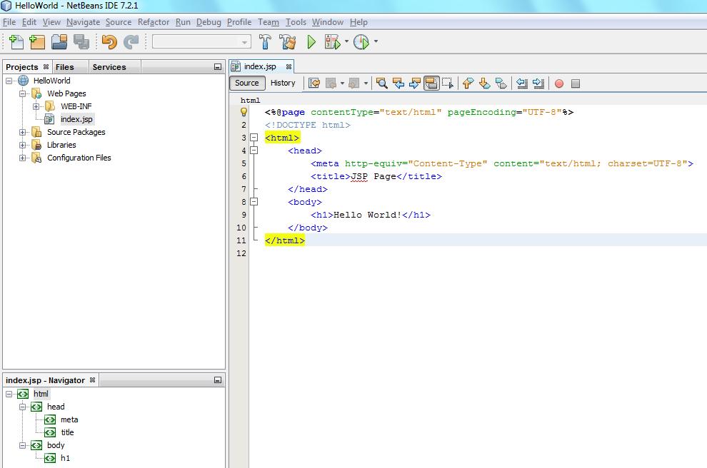 how to run jsp code