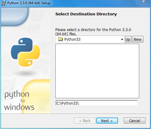 Install Python Step 2