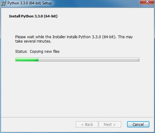 Install Python Step 4