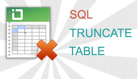 SQL TRUNCATE TABLE