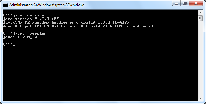 Java Tools - Command Line
